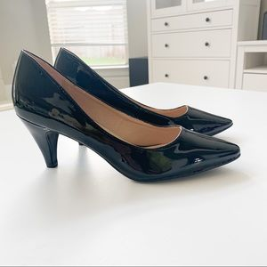 Forever Black Pat Heels Grande-22